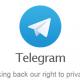 logo van telegram